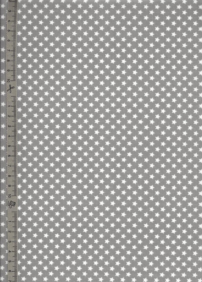 054084afac Toile cirée petites étoiles sur gris tissu coton enduit gris | Etsy