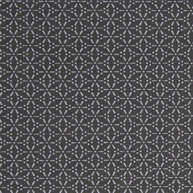 0ebc9395d4 Toile cirée au maison avec motif imprimé noir sur blanc toile | Etsy
