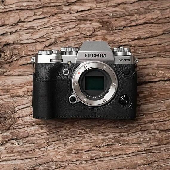 Cámara De Cuero Genuino Lim/'s Correa Para La Muñeca Para Leica SONY Nikon Fujifilm Negro