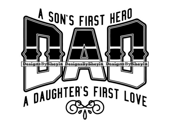 Download Dad Son First Hero Daughters Love Family Fathers Day ...
