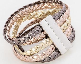 Gold Wrap Bracelet, Wrap bracelet, Wrap bracelet for women