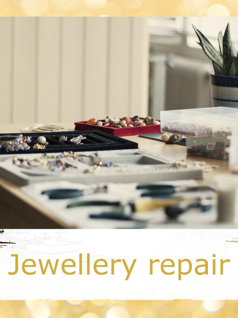 Jewellery Repair  fix and repair restringing beaded image 0