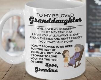 To My Beloved Granddaughter