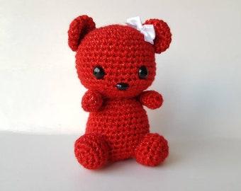 CROCHET PATTERN Teddy bear / Amigurumi EASY crochet pattern ... | 270x340