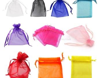 Organza - Choose Color - 9x12cm - 10 or 100 Bags