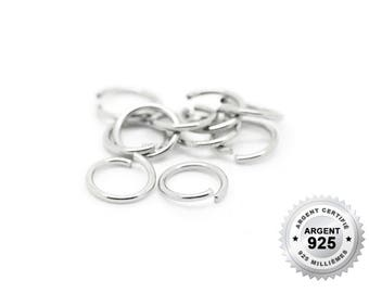 925 Silver - 3/4/5/7/10mm - 10 or 100 JumpRing