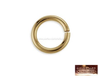 Gold Filled 14K - Rings 3mm, 4mm or 5mm: 1 or 10 to choose from-gold rings
