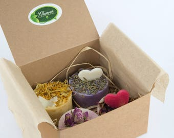 Gift box with love - Handmade soaps