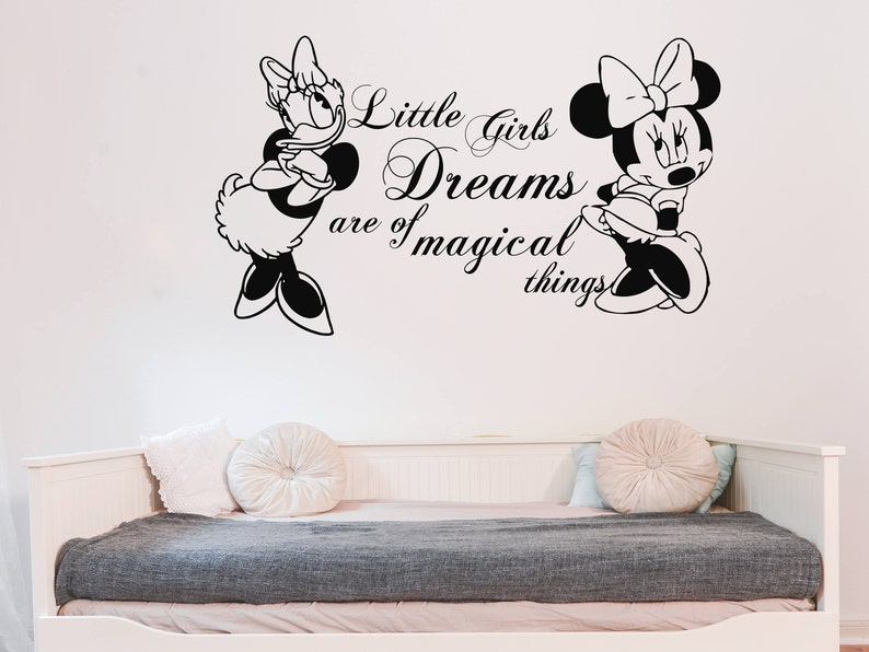 Wandtattoo Sprüche Minnie Mouse Minnie Mouse und | Etsy
