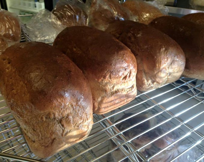 Low sodium chocolate chai artisan bread, Two loaves or 12 rolls.  Made with no salt.  Soft with light chocolate and spice flavor.