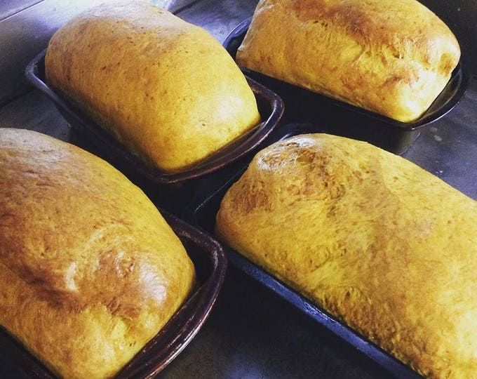 Low sodium curry masala bread. No salt but very flavorful!  Two loaves or 12 rolls