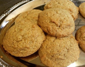Low Sodium Pumpkin Spice Cookies (salt-free!) 1 dozen.  Can also be made with gluten free ingredients or dairy free