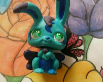 Lps OOAK // Fairy Bunny // Hand Painted