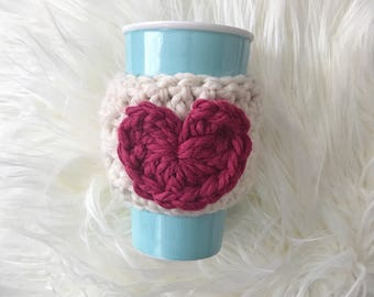 Coffee & Tea Cup Cozy {Love}