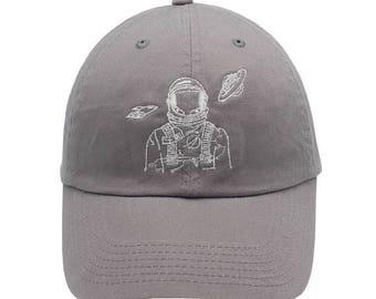 788b41db2ce Astronaut space explorer hat Embroidered Cap Dad cap dad hat embroidered  baseball cap nasa hat unisex cap