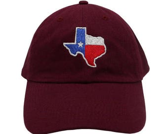 9897f3e6e6c Texas Embroidered Cap Dad cap dad hat embroidered baseball cap Texas lone  star state hat unisex cap