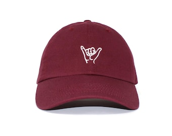 133bdaed68254 Hang Loose Embroidered Cap dad hat embroidered baseball cap hang loose hat  unisex cap