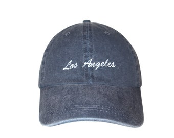 347316b8b68 Los Angeles Embroidered Cap Dad cap dad hat embroidered baseball cap upside  down hat unisex cap