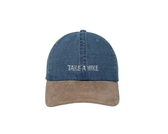 096d1ecfb94e4 Take A Hike Embroidered Cap Dad cap dad hat embroidered baseball cap  adventure hat unisex cap