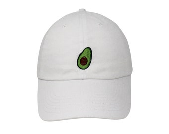 f71b356c5d4d2 Avocado Embroidered Cap Dad cap dad hat embroidered baseball cap Avocado hat  unisex cap