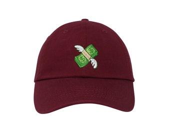 bbdcd567d1b Money Emoji Embroidered Cap Dad cap dad hat embroidered baseball cap money emoji  hat unisex cap