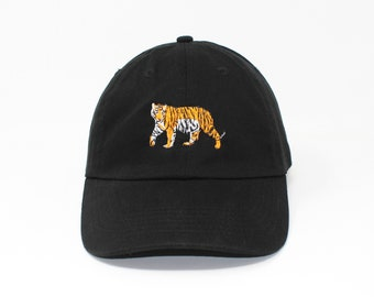 Tiger Embroidered Cap dad hat embroidered baseball cap tiger hat unisex cap cfd75394cf72