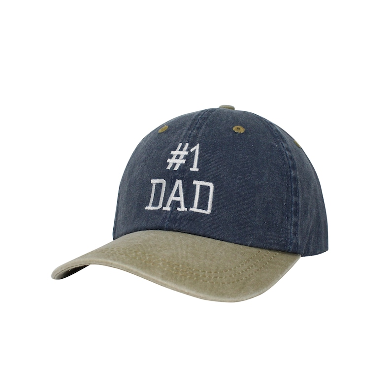50b31052fd3 Best Dad Embroidered Cap Dad cap dad hat embroidered baseball
