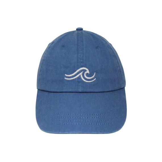 4eb2140c0c7e6 The Wave Embroidered Cap Dad cap dad hat embroidered baseball