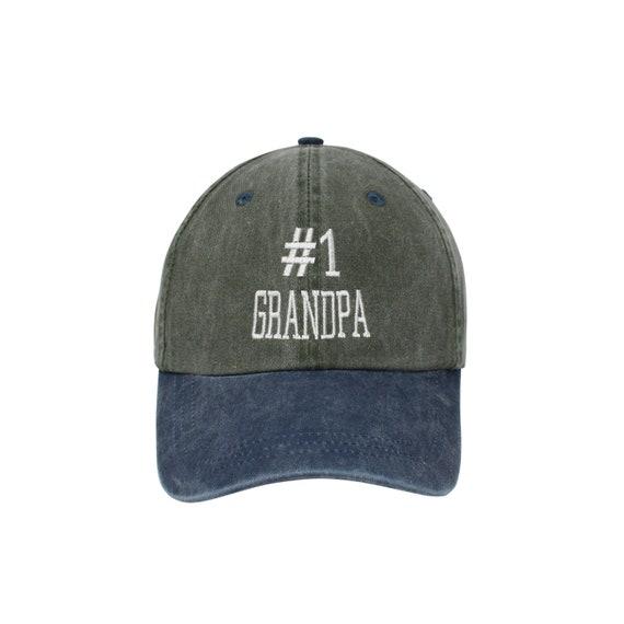 de822ed7fc6 Best Grandpa Embroidered Cap Dad cap dad hat embroidered