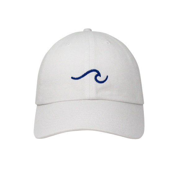 0b2cfe14dae The Wave Embroidered Cap Dad cap dad hat embroidered baseball