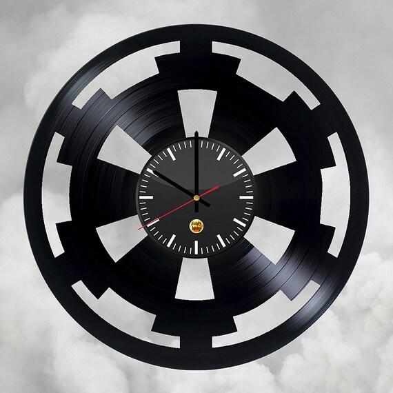 Dark Side Symbol Vinyl Record Wall Clock