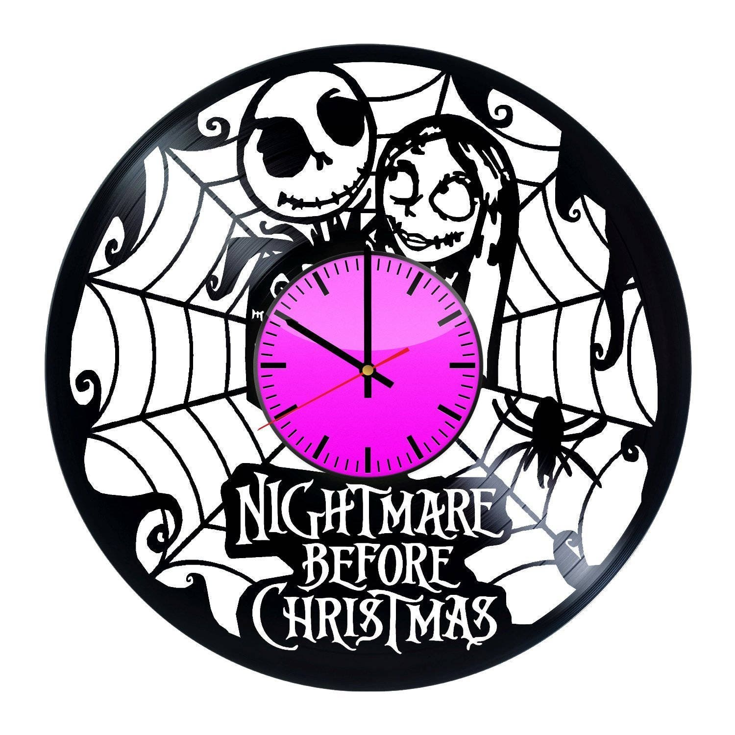 Nightmare Before Christmas Jack Skellington vs Sally Vinyl | Etsy