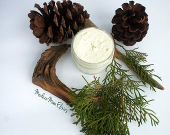 Wandering Woods Body Butter | Manly Moisturizer | Vegan Moisturizer | Whipped Body Butter | Woodland Lotion | Mens Skin Care | Gifts for Him