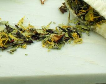 Siren's Soak Bath Tea | Sea Inspired Herbal Bath Tea | Mermaid Tub Tea | All Natural Therapeutic Bath Tea for Stress Relief and Relaxation