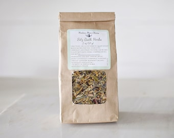 Sitz Bath | Herbal Postpartum Bath | Organic Childbirth Gift | Herbal Bath Tea | Natural Healing Bath Soak | Tub Tea | Perineum Tear Relief