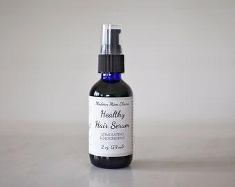 Healthy Hair Serum | Hair Growth Oil | Natural Haircare Oil | Herbal Elixir | Dry Scalp Tonic | Thinning Hair Treatment | Vegan Hair Product