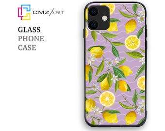 Cherry Phone Case Tempered Glass for All Apple iPhone /& Samsung Galaxy Model Personalised Pattern Cover