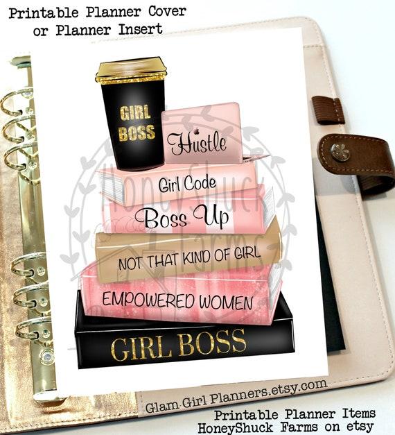 Instant Digital Download Clip Art Graphic Caffeine Makeup Money Girl boss design Sublimation File PNG