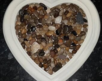 Pebble heart