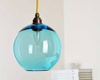 Lampade In Vetro A Sospensione : Lampadari e lampade a sospensione etsy it