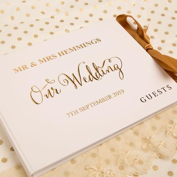 Personalised Wedding Guest Book