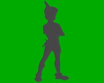 Peter Pan Sillouette