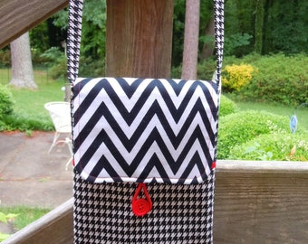 Small crossbody bag, shoulder bag, crossbody purse, travel purse, gift for her, handbag, cell phone bag, cell phone purse