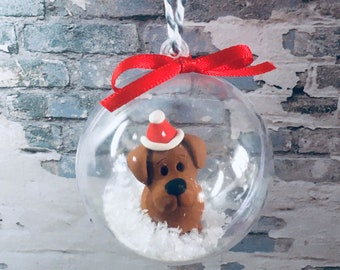 Labrador bauble dog Christmas  baubles tree decorations