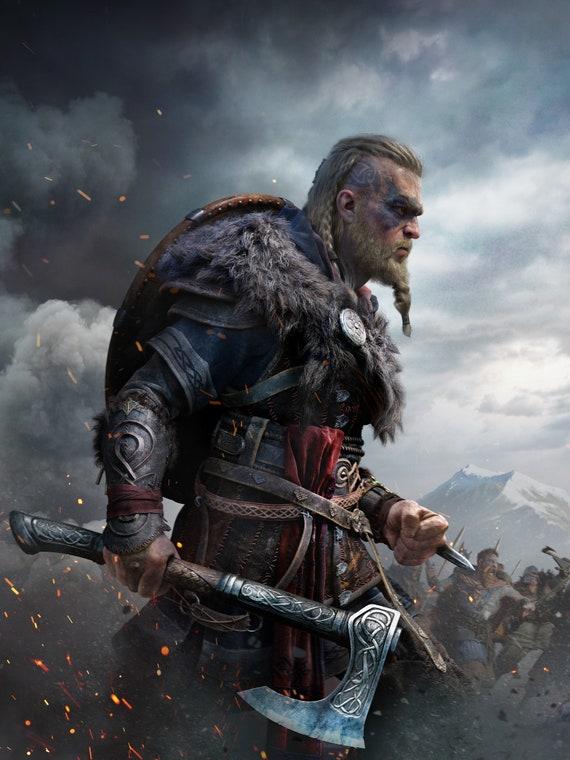 Preorder Assassin S Creed Valhalla Eivor Cosplay Costume Etsy