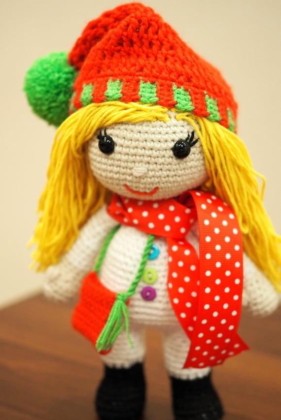 Amigurumi Rose Doll Free Pattern – Amigurumi Free Patterns And ... | 853x570