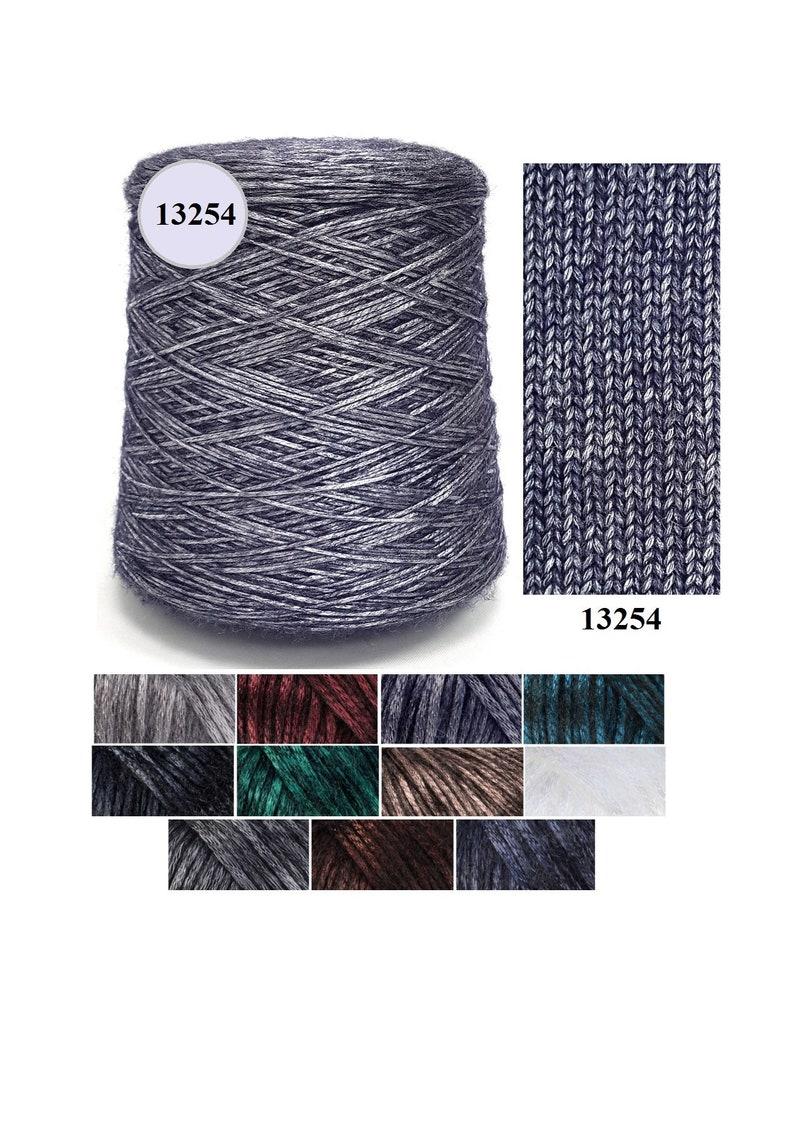 Bobbin yarn Gazzal Rock  N  Roll merino wool glitter  61a23b440da4