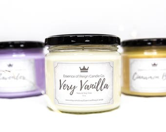 Choose 4 Candles for Bundle Deal. Save on Shipping. Soy Candles. Scented Candles. Bridesmaid Gift.