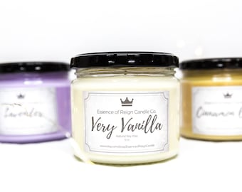 Choose 3 Candles for Bundle Deal. Save on Shipping. Soy Candles. Scented Candles.