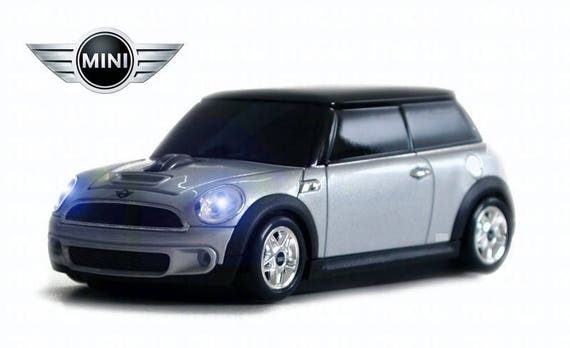 IDEAL CHRISTMAS GIFT Multi-colour LICENSED Mini Cooper S Wireless Car Mouse